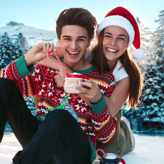 Brent-Rivera-with-his-girlfriend