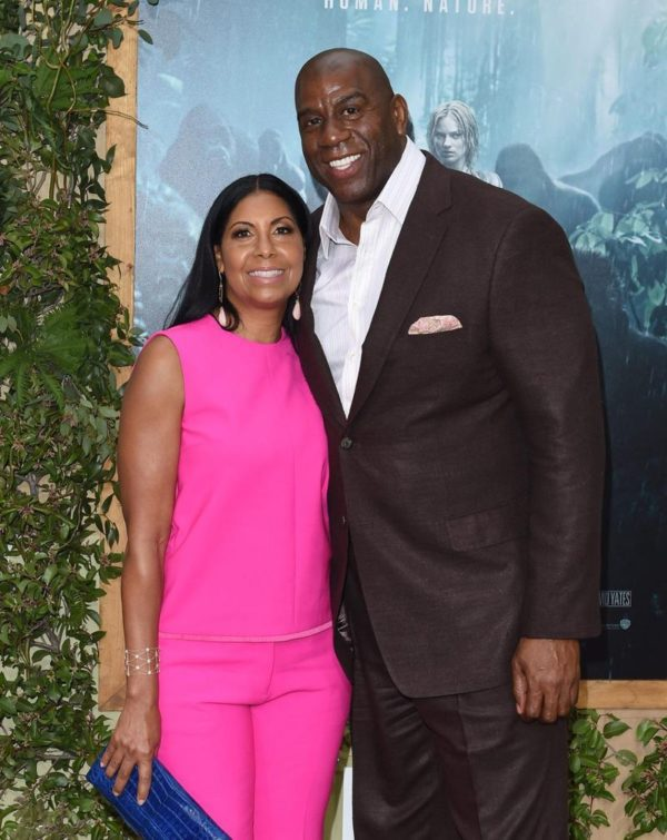 Cookie-Johnson-with-her-husband-image
