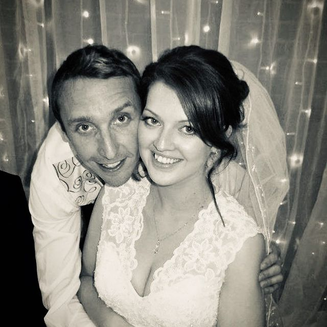 Kelly-Foran-with-her-husband