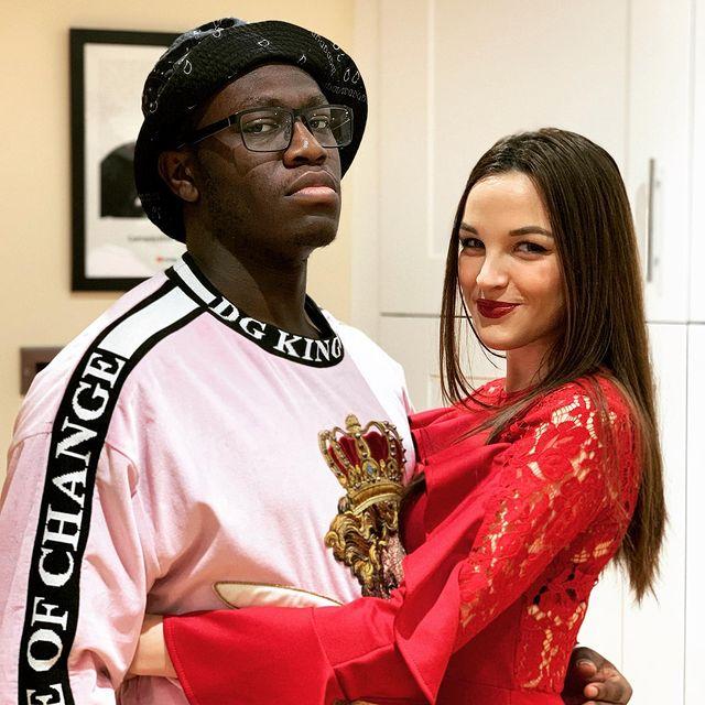 Deji-Olatunji-with-his-girlfriend