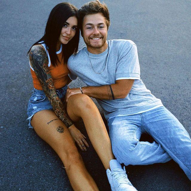 Peyton-Meyer-with-his-girlfriend