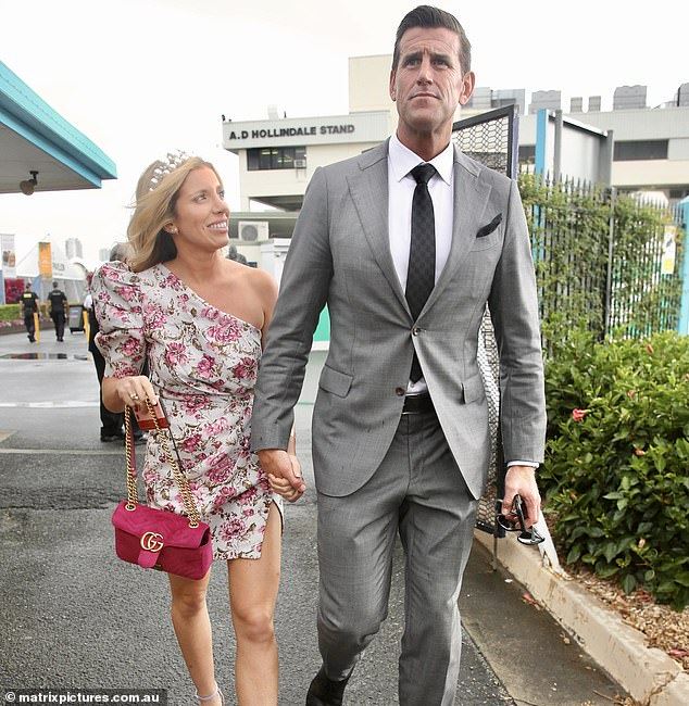 Emma-Roberts-Smith-with-her-husband-image
